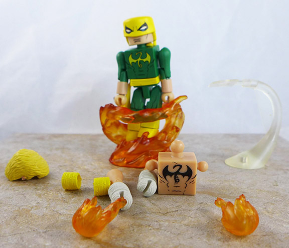 Dragon Attack Iron Fist Loose Minimate (Marvel 'Best of