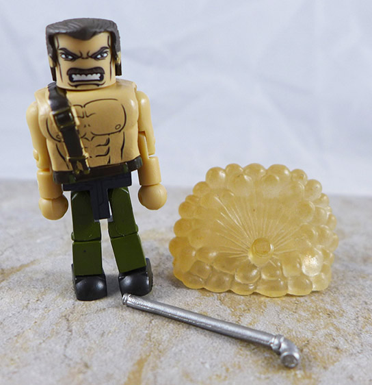 Mike Haggar Loose Minimate (Marvel vs. Capcom TRU Wave 1)