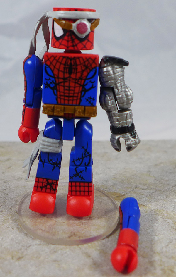 Cyborg Spider-Man Loose Minimate (Marvel Wave 50)