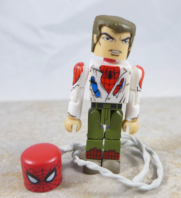 Unmasked Spider-Man Loose Minimate (Marvel Wave 41)
