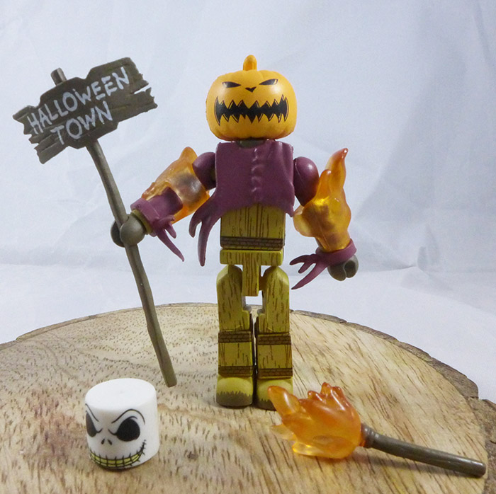 Pumpkin King Loose Minimate (Nightmare Before Christmas TRU Series 2)