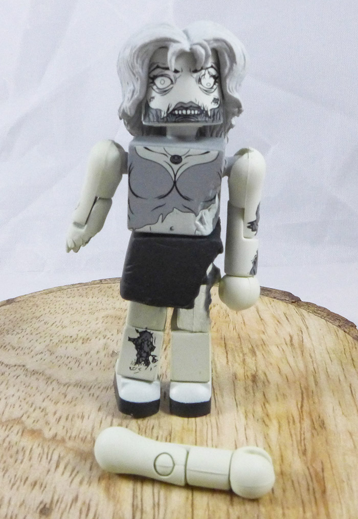 Female Zombie Loose Minimate (Walking Dead ComicFest 2012 Exclusive Two Pack)