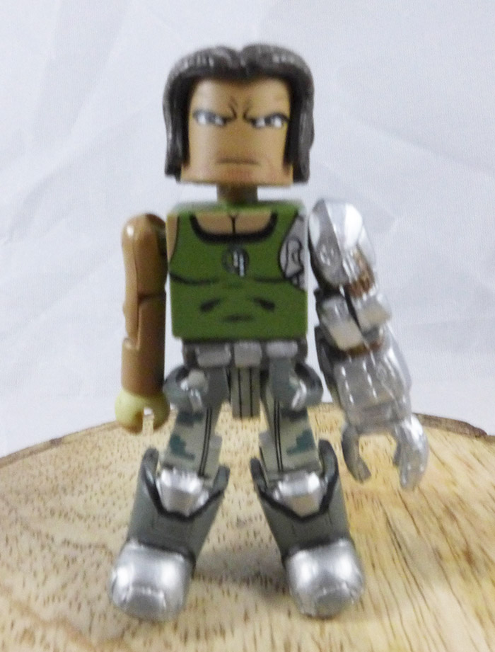 Nathan Spencer Loose Minimate (Marvel vs. Capcom TRU Wave 2)