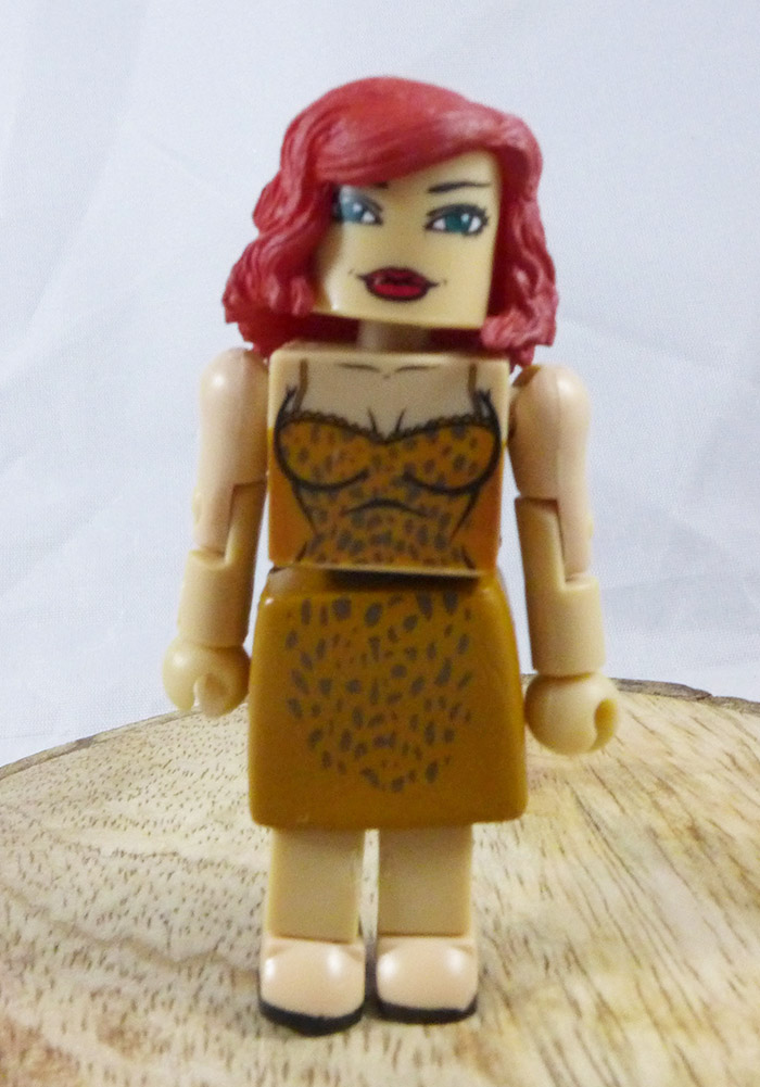 Natalie Romanova Partial Loose Minimate (Marvel Iron Man 2 Stark Expo Two Pack)