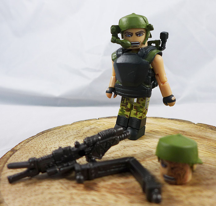 Pvt. Drake Partial Loose Minimate (Aliens TRU Series 2)