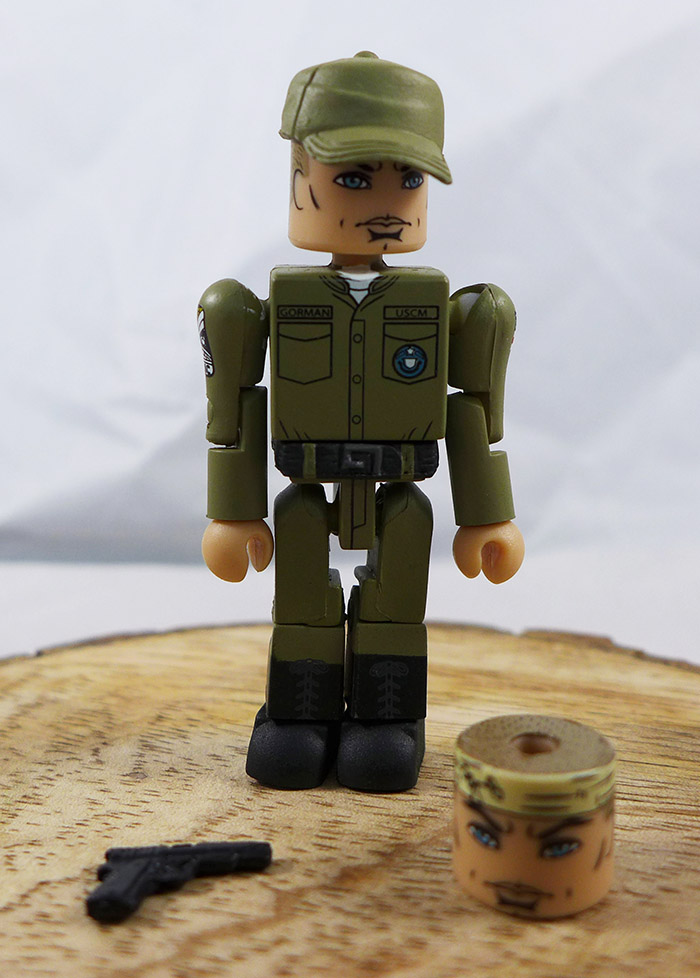 Lt. Gorman Loose Minimate (Aliens APC Vehicle Set)