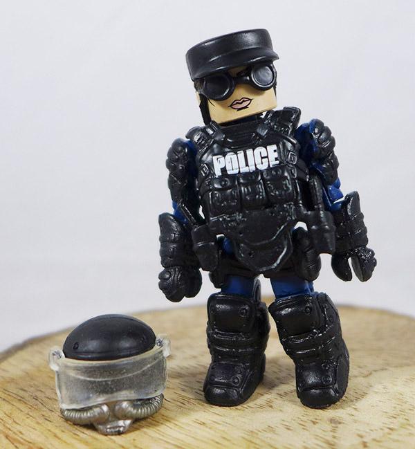 Law Enforcement Officer 3 Loose Minimate (Elite Heroes 4 Pack Box Set)