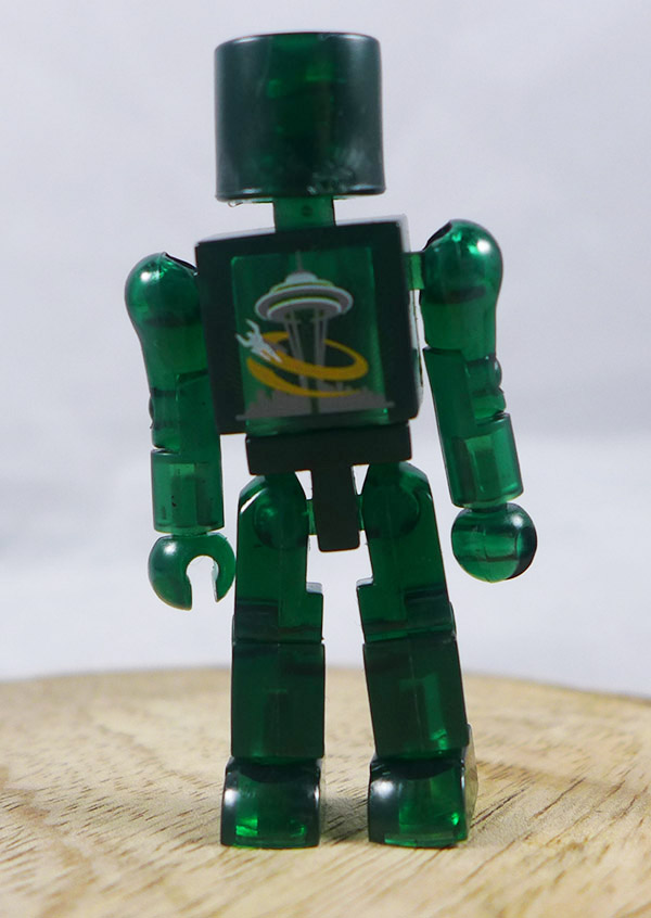 2006 Emerald City Comicon Translucent Green Loose Minimate (Promotional Logo Single Pack)