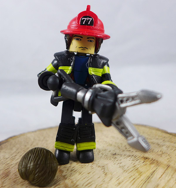 Fire Fighter Chief 3 Loose Minimate (Elite Heroes 4 Pack Box Set)