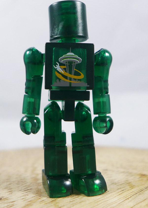 2006 Emerald City Comic Translucent Green Loose Minimate (Promotional Logo Single Pack)