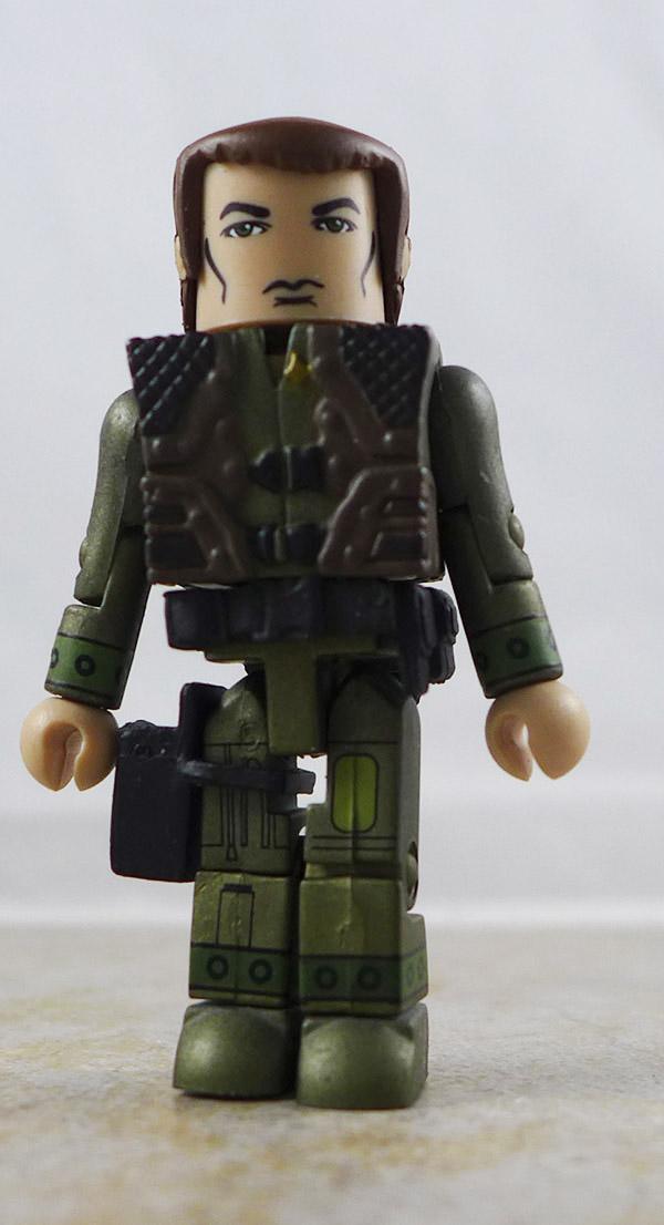 Lieutenant Helo Partial Loose Minimate (Battlestar Galactica Wave 3)