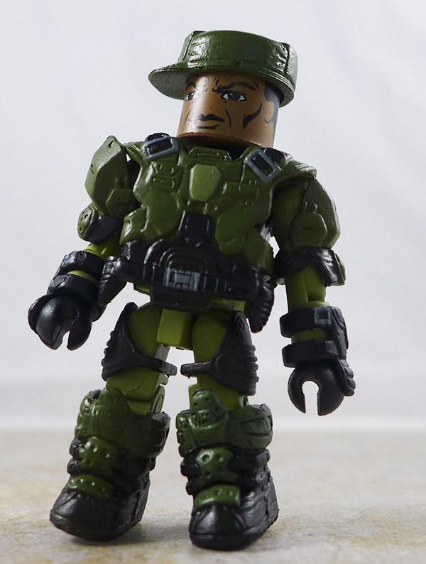 Sgt. Johnson Partial Loose Minimate (Halo TRU Series 1)