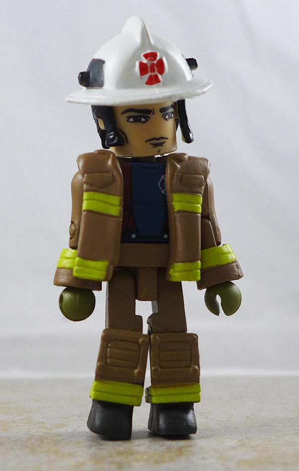 Smoke Jumper Fire Chief 3 Partial Loose Minimate (Elite Heroes 4 Pack Box Set)