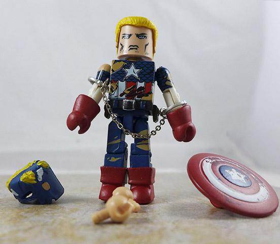 Civil War Captain America Loose Minimate (Marvel Civil War Box Set)