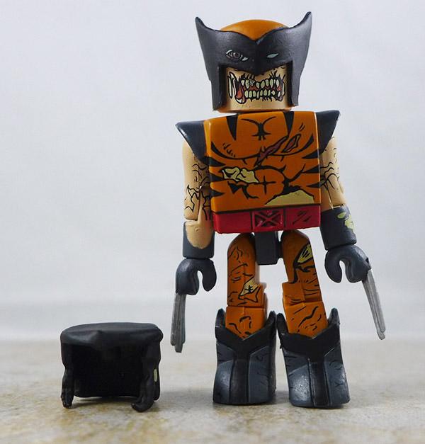 Zombie Wolverine Loose Minimate (Marvel Zombies 5-Pack Box Set)