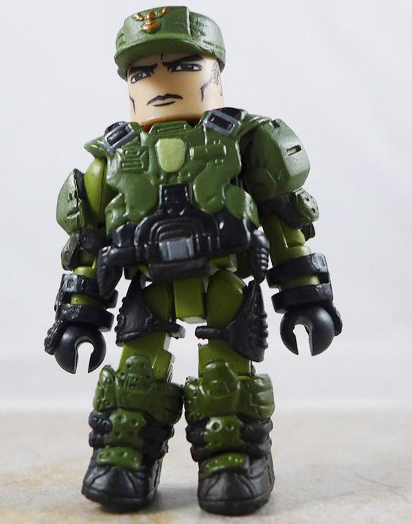 UNSC Sergeant Partial Loose Minimate (Halo TRU Series 5)