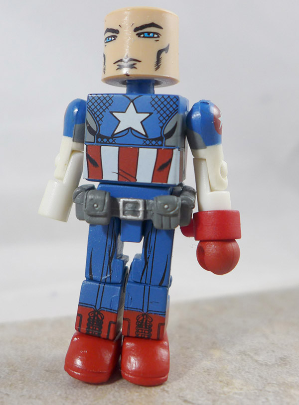 Captain America Partial Loose Minimate (Marvel Wave 27)