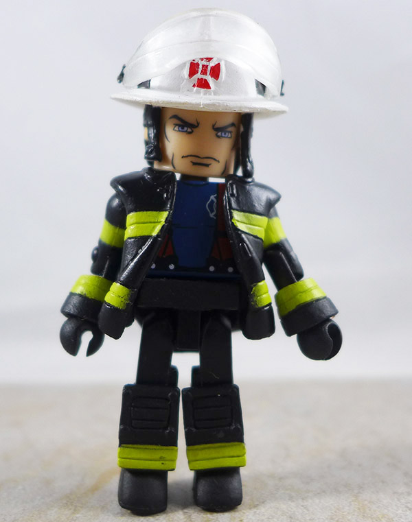 Fire Fighter Chief Custom Partial Loose Minimate (Elite Heroes Wave 1)