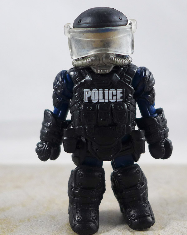 Law Enforcement Officer 3 Partial Loose Minimate (Elite Heroes 4 Pack Box Set)
