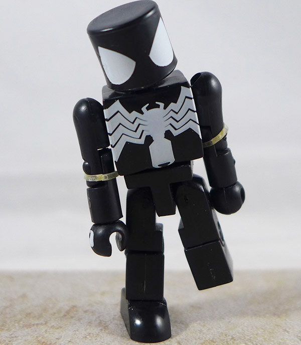 Spider-Man (Black) Partial Loose Minimate (Marvel Wave 2)