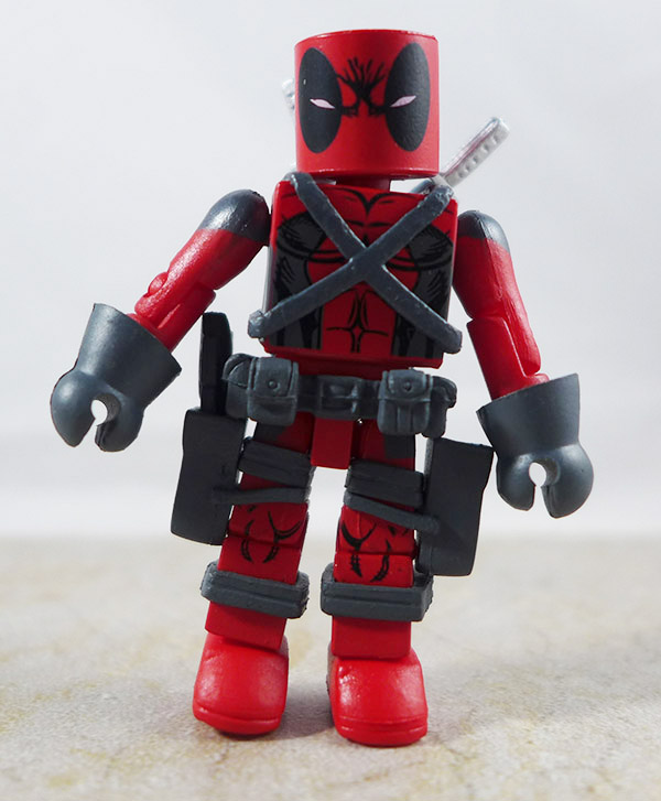 First Appearance Deadpool Partial Loose Minimate (Marvel X-Force Box Set)