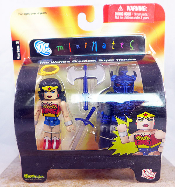 Wonder Woman and Ares (DC Series 3)