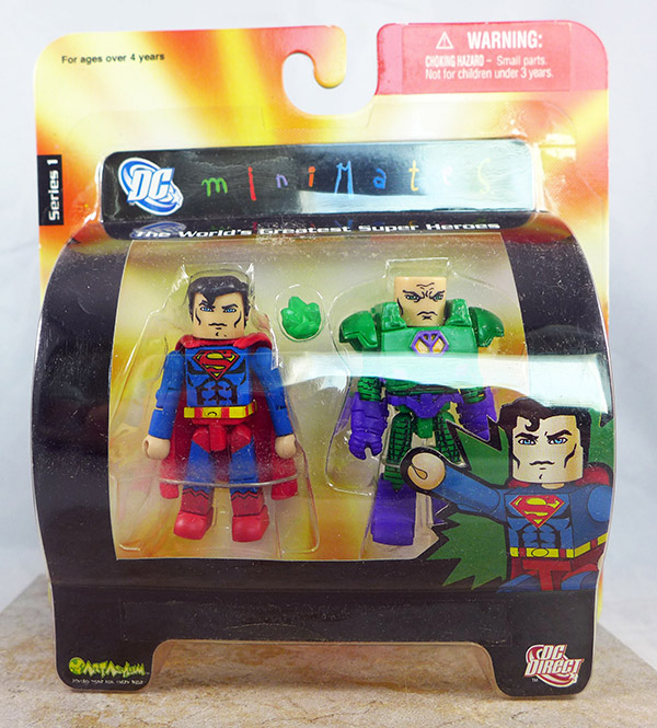 Superman and Lex Luthor in Battle Armor (DC Series 1)