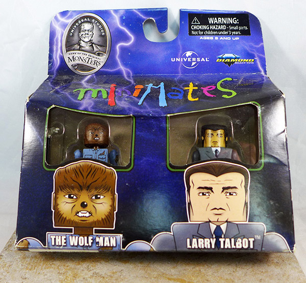 Wolf Man and Larry Talbot (Universal Monsters TRU Wave 1)