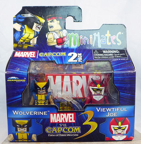 Wolverine vs. Viewtiful Joe (Marvel vs. Capcom Series 2)