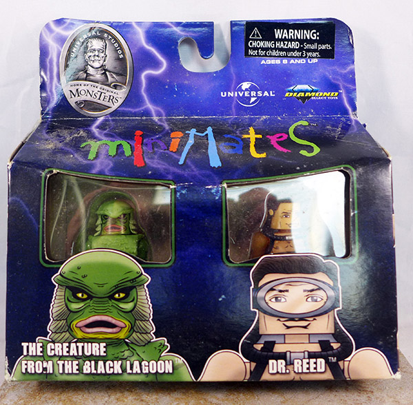 The Creature From The Black Lagoon & Dr. Reed (Universal Monstars TRU Wave 1)