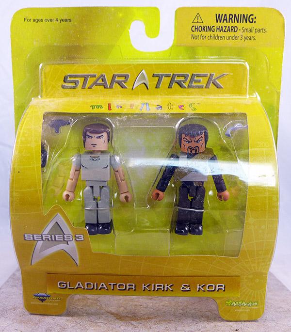 Gladiator Kirk and Kor (Star Trek Wave 3)
