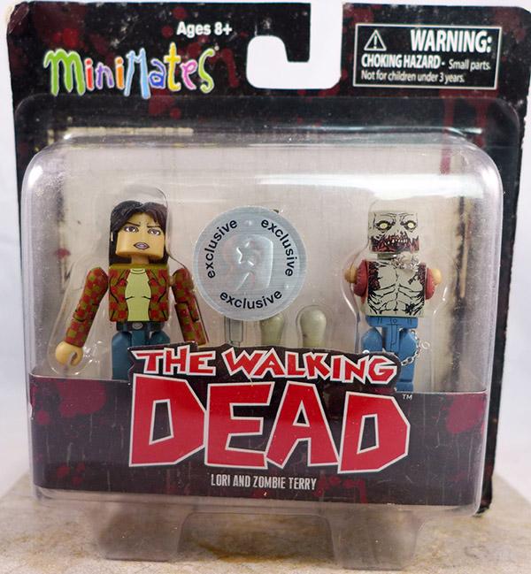 Lori and Zombie Terry (Walking Dead TRU Wave 2)