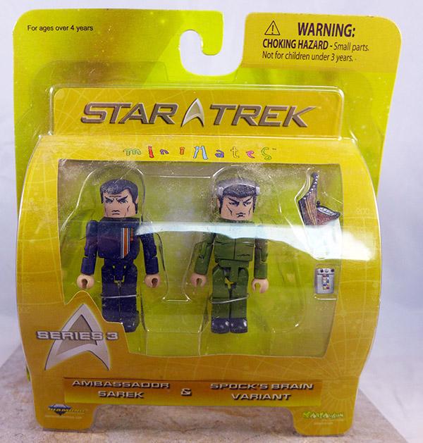 Ambassador Sarek and Spock's Brain Variant (Star Trek Wave 3)