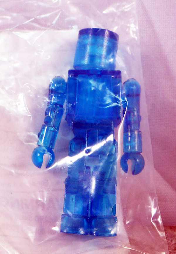 Translucent Blue Loose Minimate (SDCC Promotional Logo Single Packs)