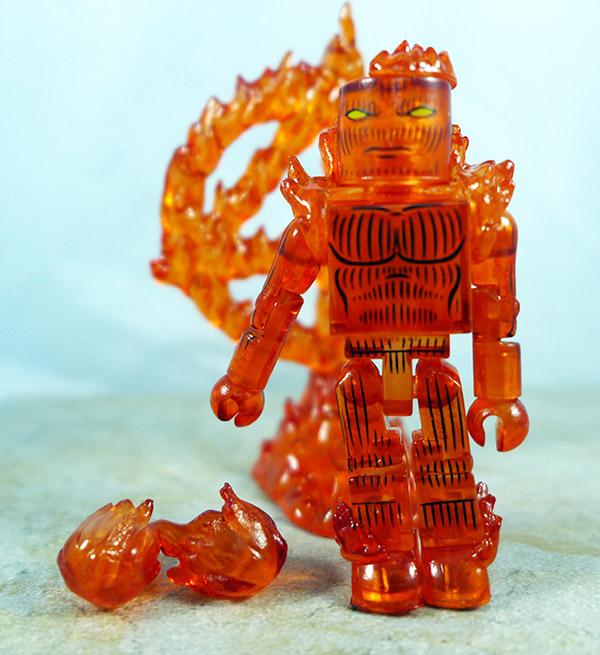 Nova Flame Human Torch Loose Minimate (Marvel TRU Wave 15)
