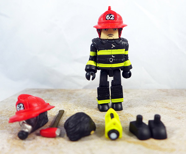 Fire Chief Max Loose Minimate (NYCC Firefighter Two Pack)