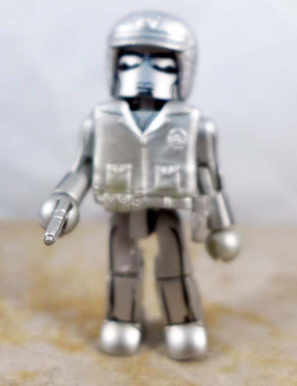 Silver T-1000 Loose Minimate (Terminator 2 Single Packs)