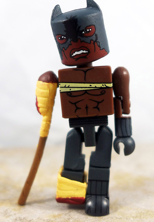 Zombie Attacked Black Panther Loose Minimate (Marvel Exclusive Two Packs)