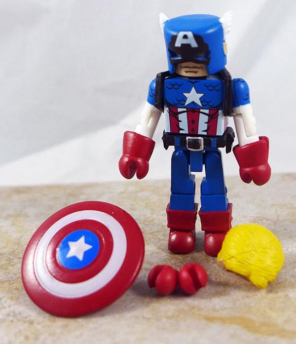 Captain America Loose Minimate (Marvel TRU Wave 6)