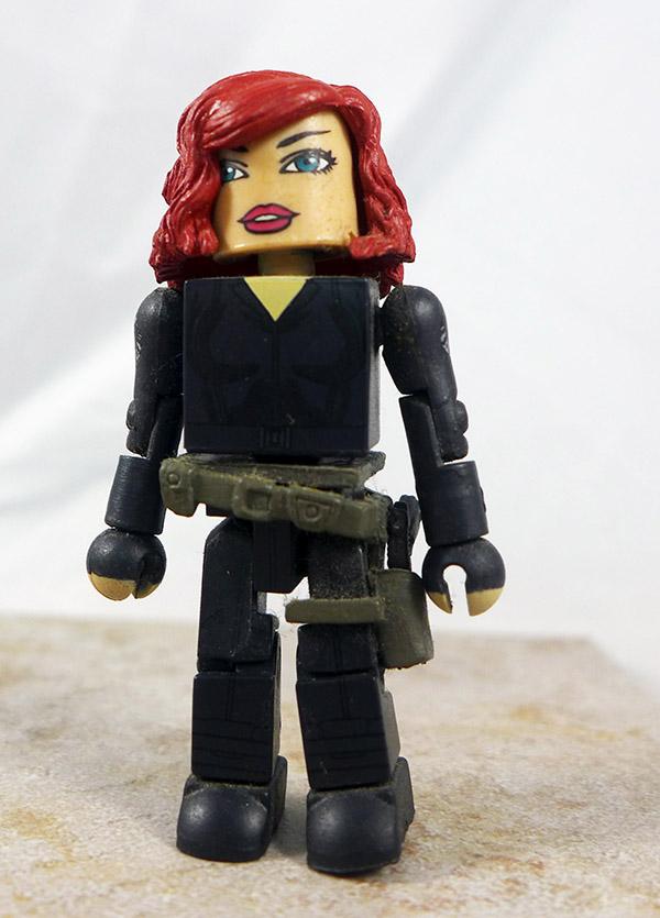 Black Widow Loose Minimate (Marvel TRU Iron Man 2 Wave 1)