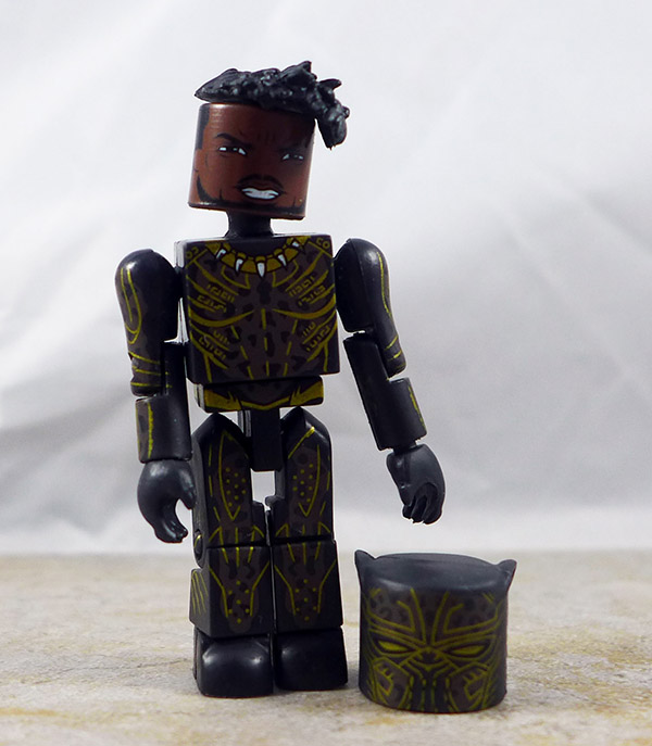 Powered Up Killmonger Loose Minimate (Marvel Black Panther Box Set)