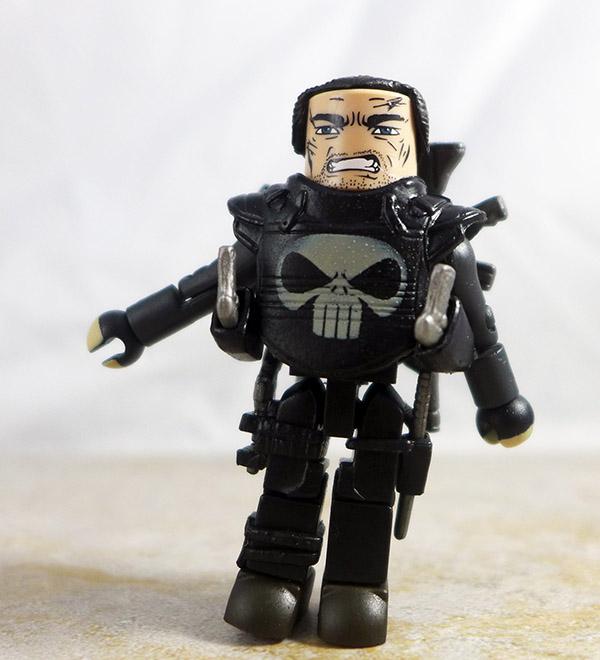 Assault Armor Punisher Loose Minimate (Marvel Punisher: War Zone Box Set)