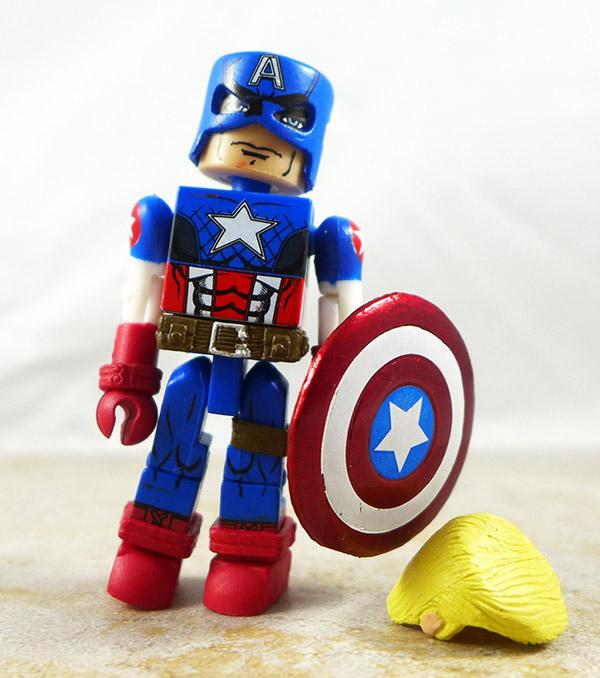 Ultimate Captain America Loose Minimate (Marvel TRU Wave 14)