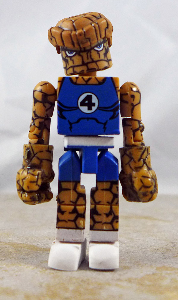 Clobberin' Time Thing Partial Loose Minimate (Marvel Exclusive Two Packs)