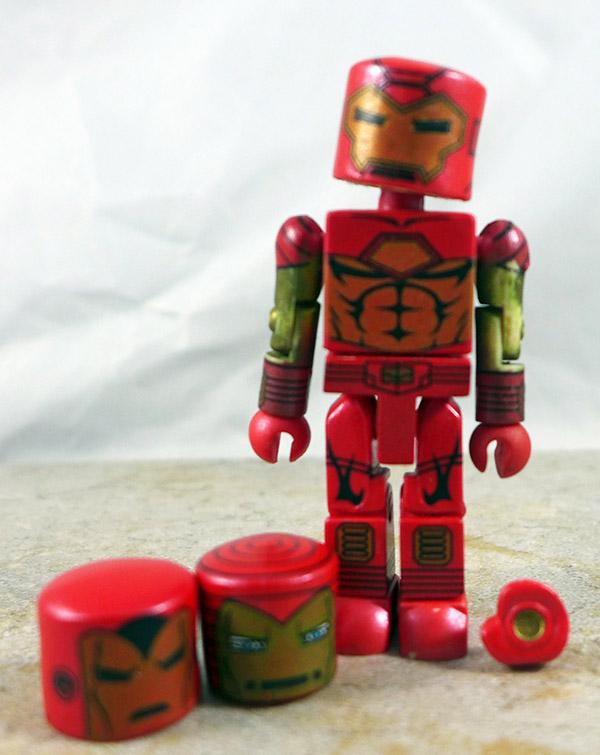 Modular Armor Iron Man Partial Loose Minimate (Marvel Iron Man Through the Ages Box Set)