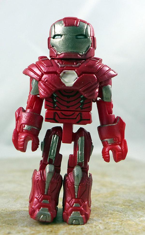 Silver Centurion Iron Man Partial Loose Minimate (Marvel TRU Iron Man 3 Two Packs)