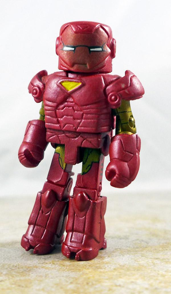 Extremis Iron Man Misprint Loose Minimate (Marvel Wave 32)