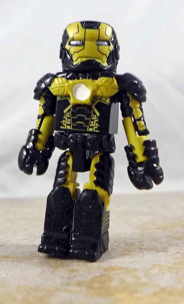 Skeleton Armor Iron Man Partial Loose Minimate (Marvel TRU Iron Man 3 Two Packs)