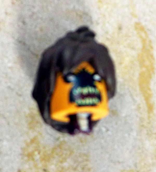Zombie Wasp Head Loose Minimate (Marvel Zombies 5-Pack Box Set)