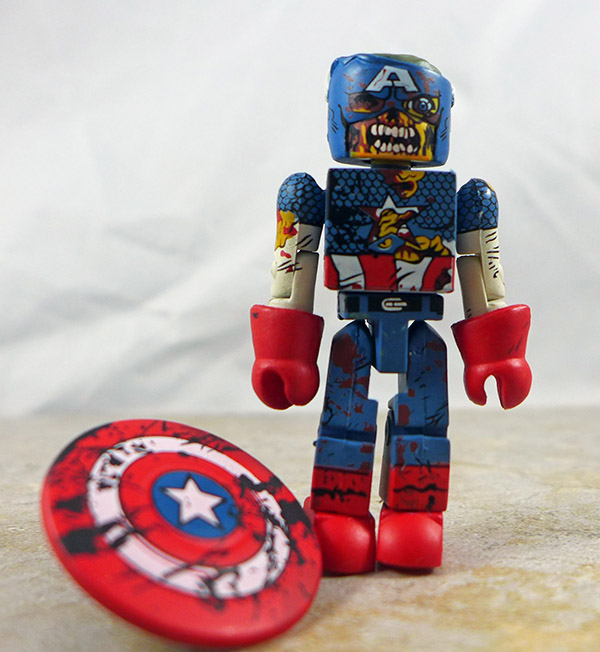 Zombie Col. America Loose Minimate (Marvel Zombies 5-Pack Box Set)